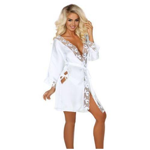 8663f29f7a06f8 ambrosia white szlafrok marki Beauty night 191,00 zł ekskluzywny szlafrok  wytwarzany z finezyjnej, szczególnie przyjemnej w dotyku jedwabnej satyny.