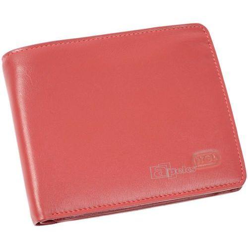 2f7d020b3bb73 2002-07 portfel skórzany męski - czerwony marki Hgl lederwaren 119