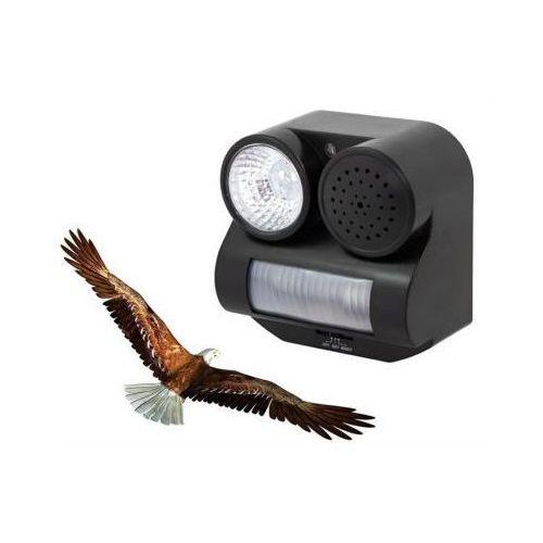 Elektroniczny odstraszacz (dźwiękowo-błyskowy) ptaków, kotów i psów. marki C.f.l.