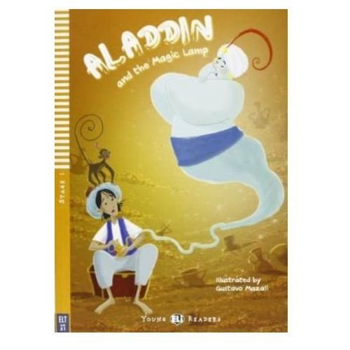 Young Eli Readers - Aladdin and the Magic Lamp + CD Audio, oprawa miękka