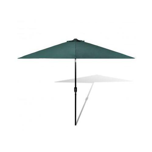 Parasol ogrodowy, zielony 3 m, vidaXL z VidaXL