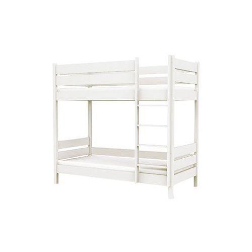 Baggi Design Łóżko piętrowe L1 90/200 białe - oferta [054ed0ab6f633412]