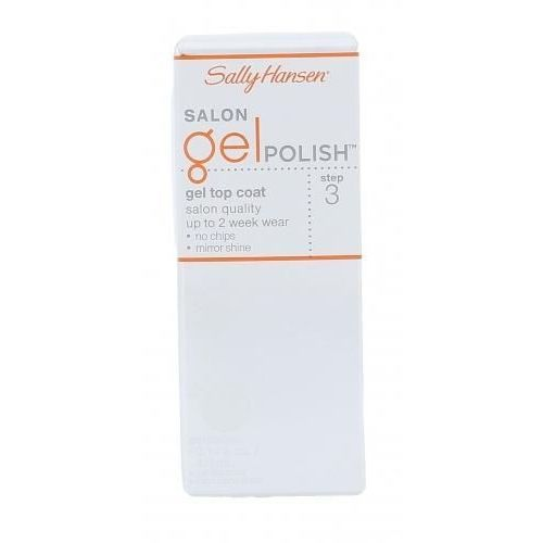 Sally hansen salon gel polish step 3 gel top coat lakier do paznokci 4 ml dla kobiet