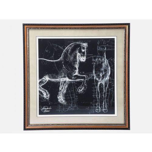 Obraz Horse Studies Różne Rodzaje Kare Design 36723 (obraz)