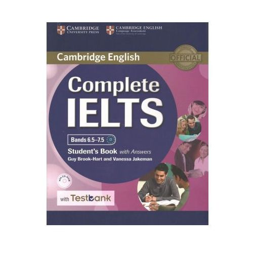 Complete IELTS Bands 6.5-7.5 Student's Book with answers with CD-ROM with Testbank (9781316602041)