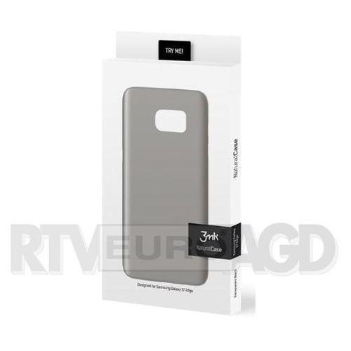 3mk Natural Case Samsung Galaxy S7 Edge (czarny), kolor czarny