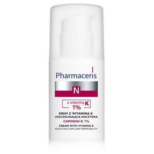 Pharmaceris n capinon k 1% krem z witaminą k uszczelniająca naczynka 30ml marki Dr irena eris