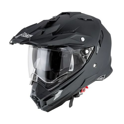 Kask motocyklowy motocrossowy Alltop AP-8851, Matt.czarny, XXL