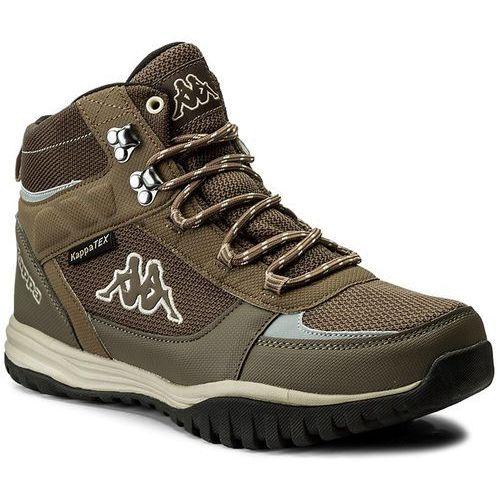 Trekkingi KAPPA - Mountain Tex 242369 Brown/Beige 5041, kolor brązowy