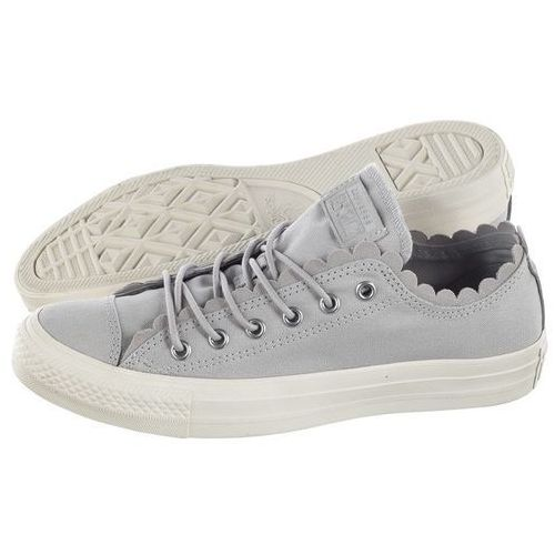 Trampki Converse CT All Star Scallop OX Mouse/Egret 564112C (CO388-a), kolor szary