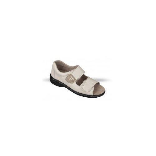 Obuwie zdrowotne sandały damskie 1010-19, Julex