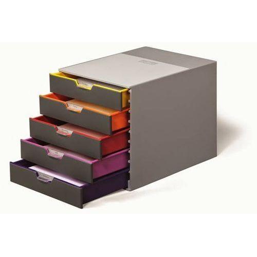 Durable Pojemnik 5 szuflad varicolor - x05464