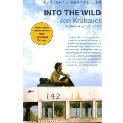 defining the character of chris mccandless from into the wild by jon krakauer