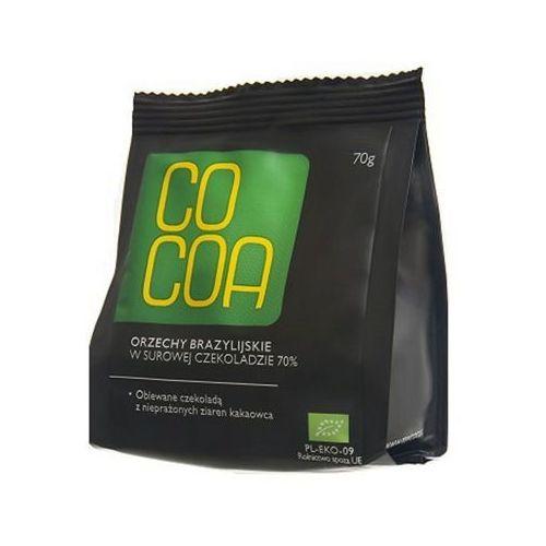 COCOA 70g Orzechy brazylijskie w surowej czekoladzie