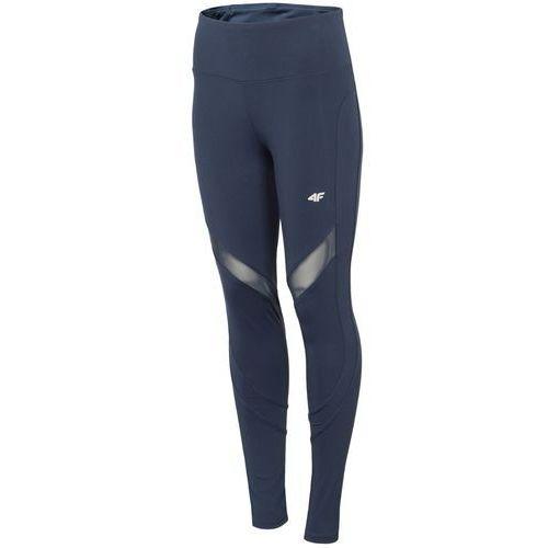 Legginsy fitness jogging h4l19 spdf005 granatowy 30s m marki 4f