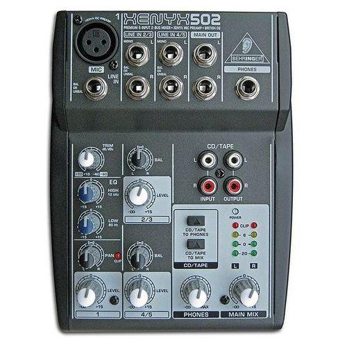 Behringer xenyx 502 (4033653020787)