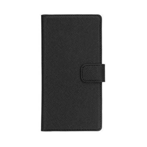 Etui XQISIT Wallet case Viskan do Huawei P10 Plus Czarny, kolor Etui