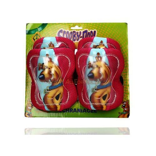 Dziewczęce ochraniacze Scooby Doo - produkt z kategorii- akcesoria sportowe dla dzieci