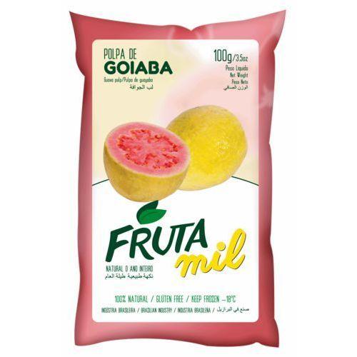 Frutamil comércio de frutas e sucos ltda Gujawa guawa naturalny miąższ (puree owocowe, pulpa, sok z miąższem) bez cukru