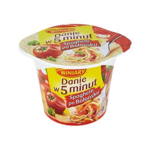 Winiary 57g danie w 5 minut spaghetti po bolońsku