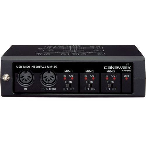 "Cakewalk UM-3G - Interface MIDI 3IN, 3OUT -5% na pierwsze zakupy z kodem ""START""!"