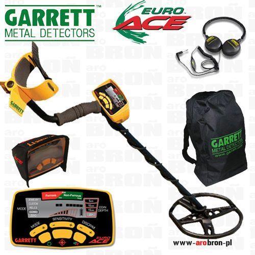 Wykrywacz metalu GARRETT EURO ACE + słuchawki - produkt z kategorii- wykrywacze metali