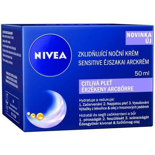 face kojący krem na noc dla cery wrażliwej (soothing night cream) 50 ml marki Nivea