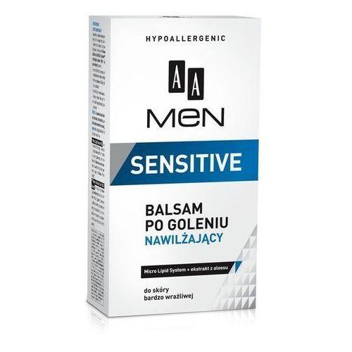 men sensitive nawilżający balsam po goleniu (micro lipid system + aloe extract) 100 ml marki Aa cosmetics