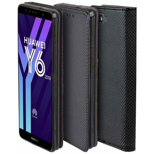 Etui Huawei Y6 2018 Smart czarne