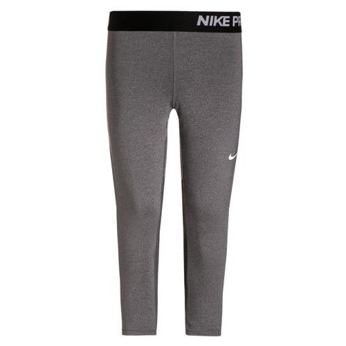 Nike Performance PRO DRY Legginsy dark grey heather/dark grey/black/white