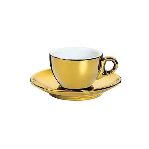 Cilio - roma - filiżanka do espresso - 50 ml - złota