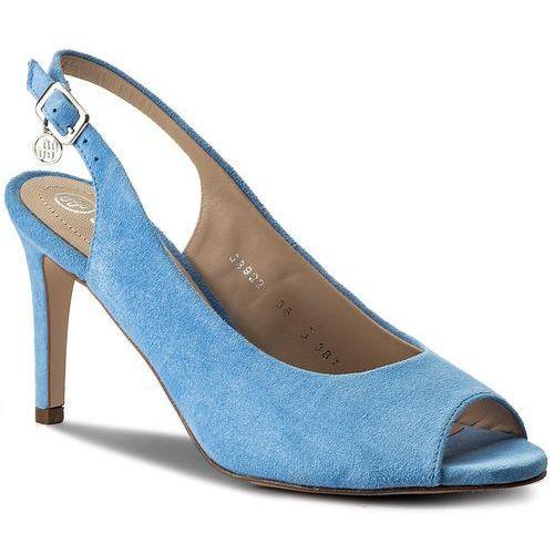 Sandały SOLO FEMME - 38922-31-H20/000-07-00 Niebieski, kolor niebieski