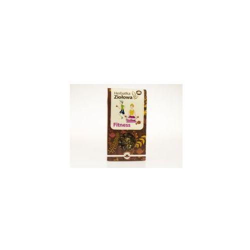 Fitness herbatka ziołowa (dzika róża, rokitnik, porzeczka, gorzka pomarańcza) 100g / natura wita marki Natur-vit