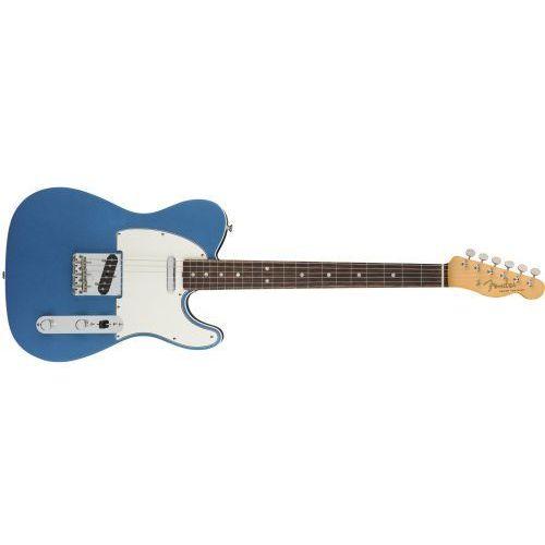 Fender american original ′60s telecaster rosewood fingerboard, lake placid blue gitara basowa