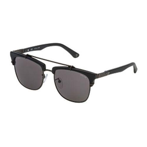 Okulary słoneczne spl494 block 2 clip on polarized 627p marki Police