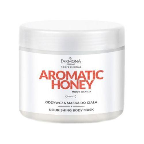 aromatic honey odżywcza maska do ciała marki Farmona
