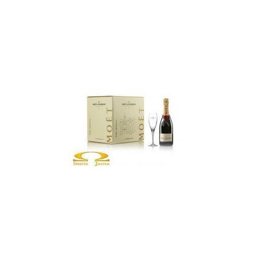 Moët & chandon Szampan imperial gift box 0,75l x6 + 6 kieliszków