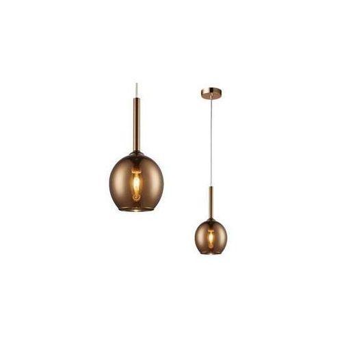 LAMPA wisząca MONIC MD1629-1 Copper Zumaline szklana OPRAWA skandynawski ZWIS kula ball miedziana lustrzana (2011005483253)