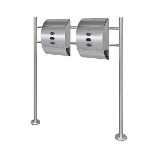 Podwójna  na stojaku wykonana ze stali nierdzewnej (2x50351+50355), marki vidaXL do zakupu w VidaXL