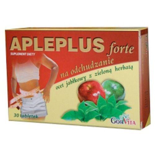 Apleplus Forte, tabletki z zieloną herbatą, odchudzające, 30 szt. (na wzmocnienie wzroku i słuchu)