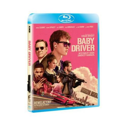 Imperial cinepix Baby driver (blu-ray) - edgar wright
