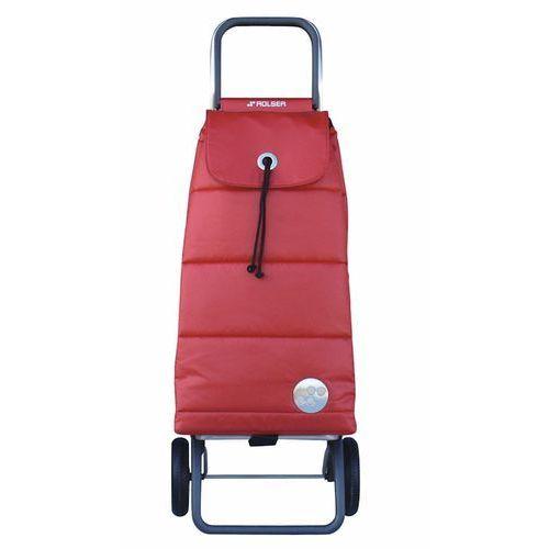 Wózek zakupowy składany Rolser Logic RG Pack rojo (wózek na zakupy)