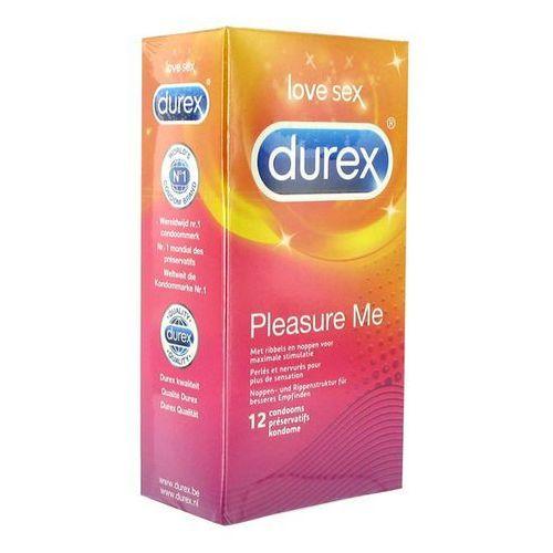 Prezerwatywy stymulujące - pleasure me condoms 12 szt marki Durex