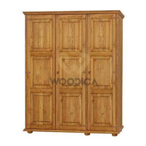 Woodica Szafa hacienda 03 [3d] 163x193x61, kategoria: szafy ubraniowe