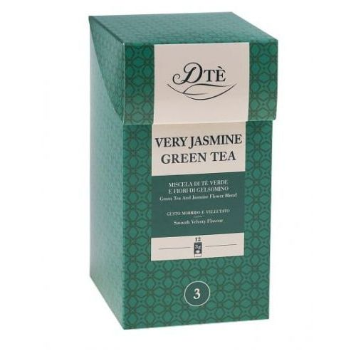 Diemme very jasmine green tea 12 torebek (8003866032125)