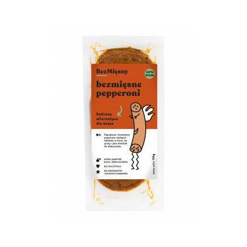 Bezmięsne Pepperoni 130g - bez konserwantów 1 szt., BMI5