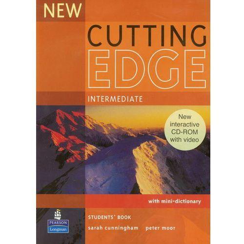 New Cutting Edge Intermediate Student's Book (podręcznik) plus CD-ROM (9781405852296)
