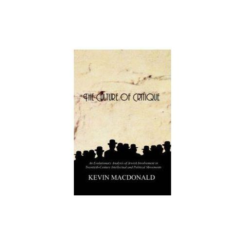 Culture of Critique (9780759672222)