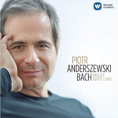 BACH: ENGLISH SUITES NOS. 1, 3, 5 - Piotr Anderszewski (Płyta CD), 2564621939