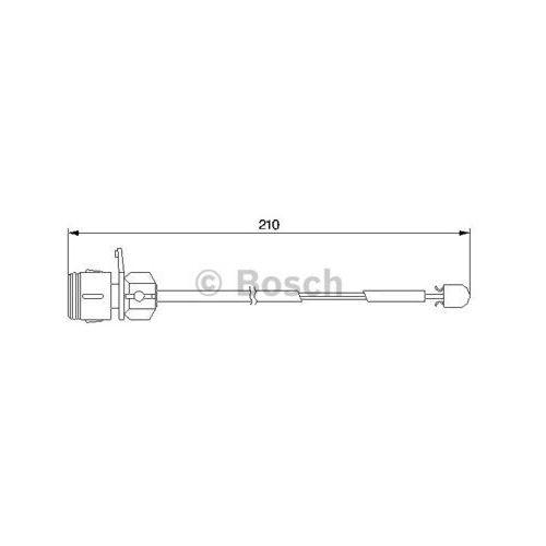 Styk ostrzegwaczy, zużycie okładzin hamulcowych 1 987 474 938 marki Bosch